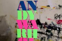 Andy Warhol scultura in mdf e vernice, 50 x 25 x 3 cm, 2018 tiratura 1 - 8