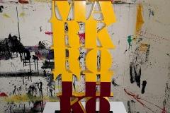 Mark Rothko scultura in mdf e vernice, 51 x 25 x 3 cm, 2018 tiratura 1 - 8